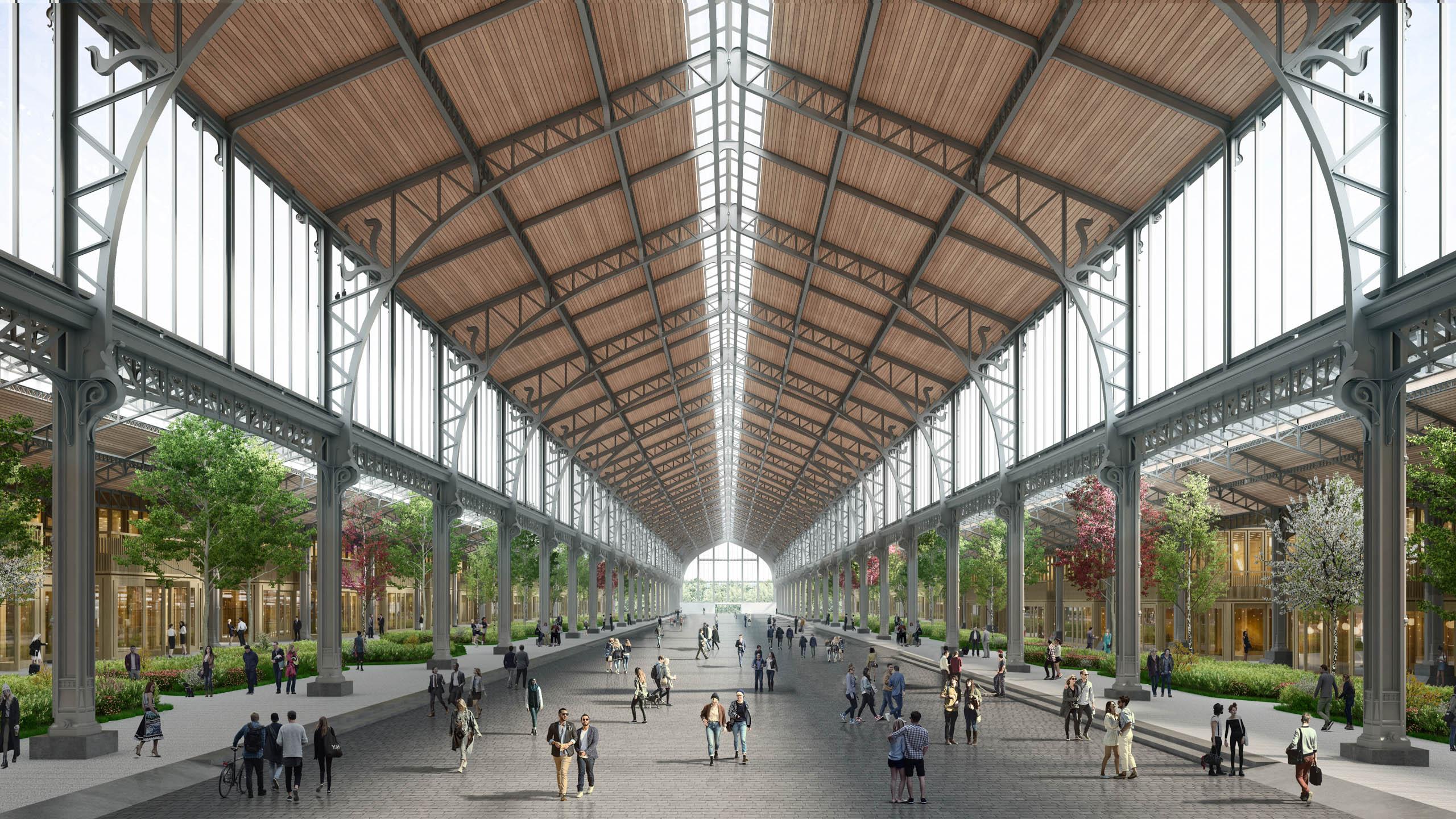 Tour & Taxis Gare Maritime interior