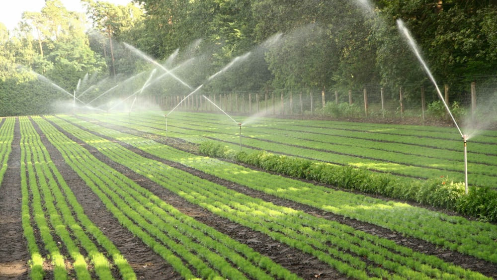 Technology mix for sustainable irrigation
