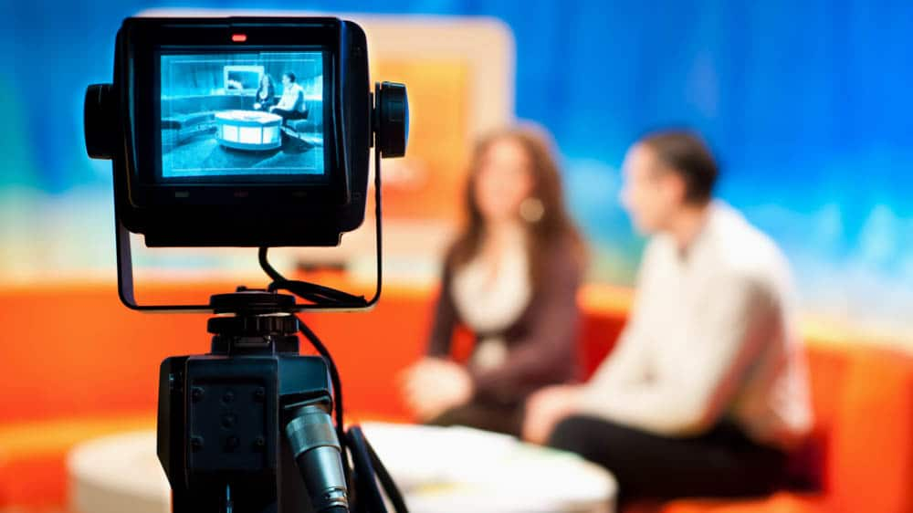 G-STIC 2020 sponsors tv studio