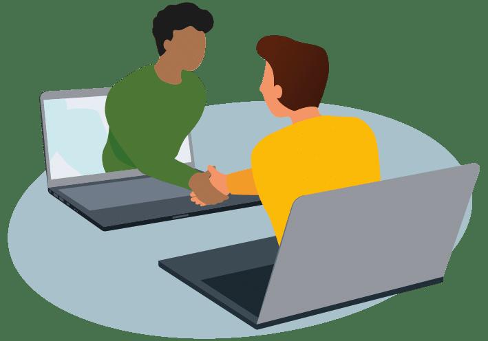 Random 1-1 meeting
