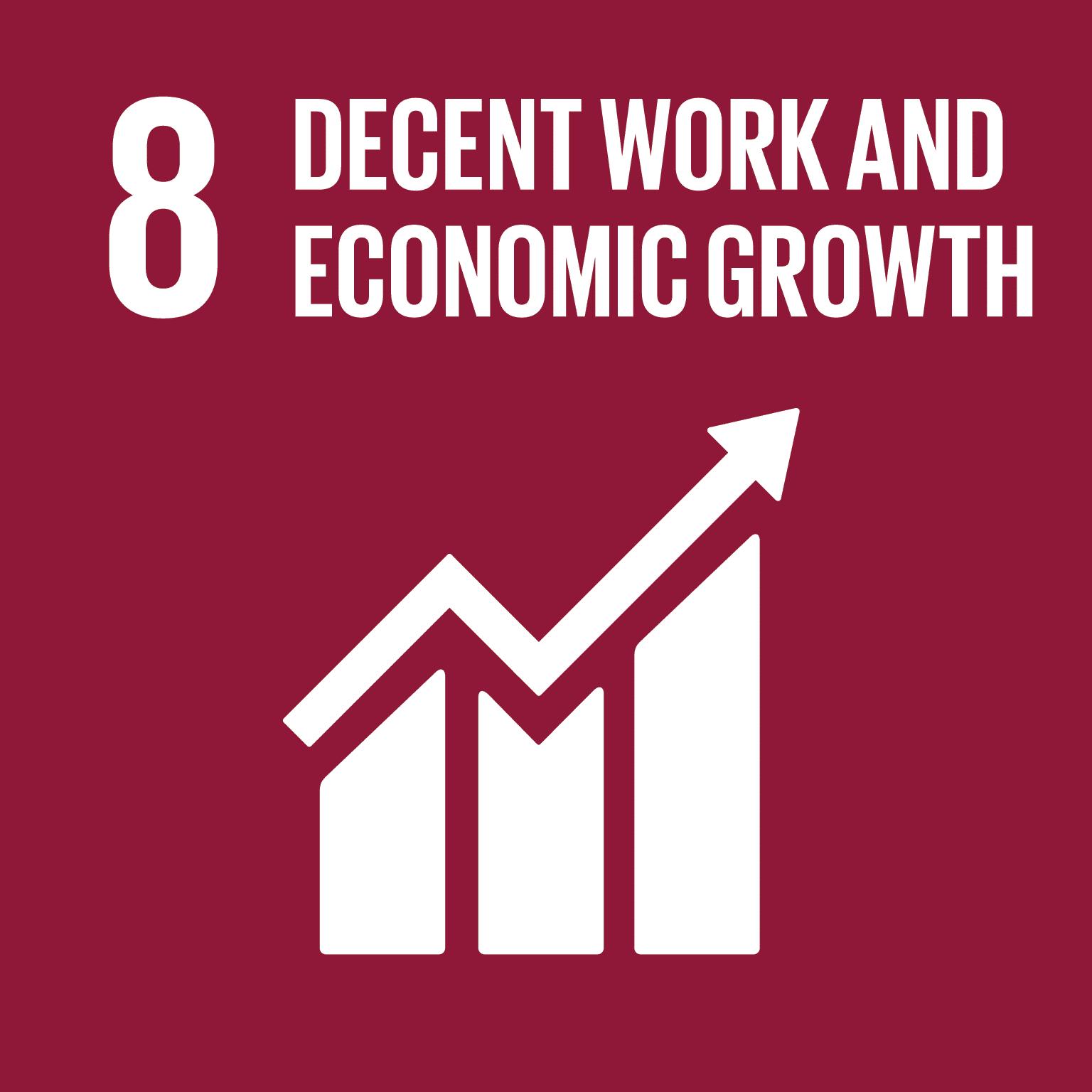 SDG 8: Decent work and economic growth